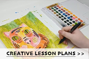Illinois Art Station Creative Lesson Plans with Animal Art Drawing