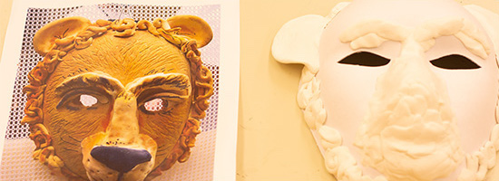 Illinois Art Station masks artwork created by children and youth