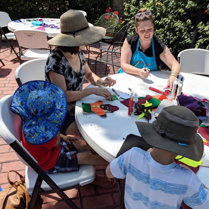 Illinois Art Station Private Events Outdoors