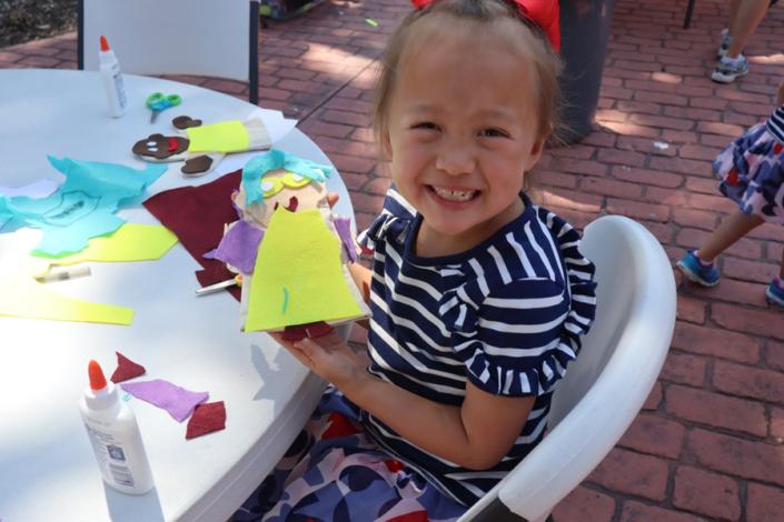 Illinois Art Station Private Events Felt Puppet Making