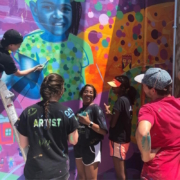 Illinois Art Station 2019 Youth Mural Project West Bloomington