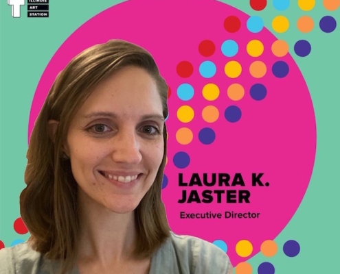 Laura Jaster Illinois Art Station New Executive Director
