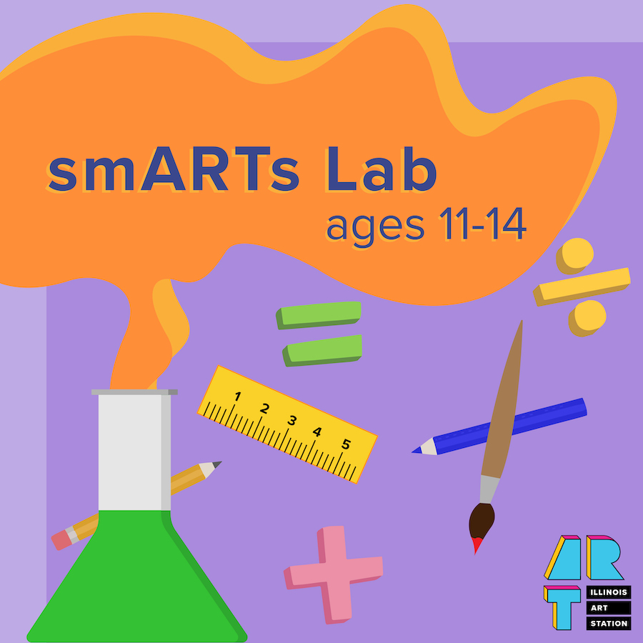 Illinois Art Station - smARTs Lab Logo